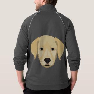 Illustration Puppy Golden Retriver Jacket