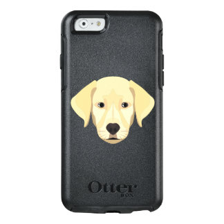 Illustration Puppy Golden Retriver OtterBox iPhone 6/6s Case