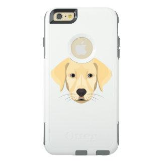 Illustration Puppy Golden Retriver OtterBox iPhone 6/6s Plus Case