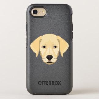 Illustration Puppy Golden Retriver OtterBox Symmetry iPhone 8/7 Case