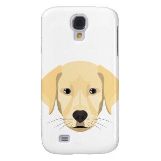 Illustration Puppy Golden Retriver Samsung Galaxy S4 Cases