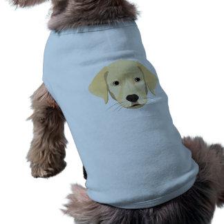 Illustration Puppy Golden Retriver Shirt
