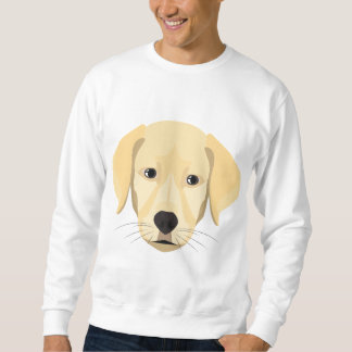 Illustration Puppy Golden Retriver Sweatshirt