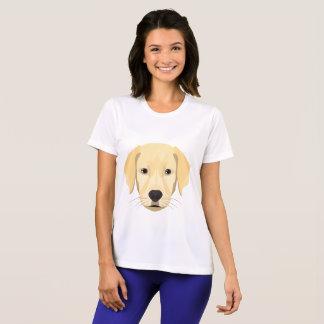 Illustration Puppy Golden Retriver T-Shirt