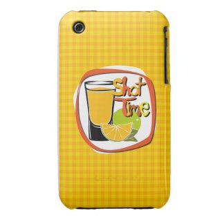 "Illustration Shot with lemon ""Shot Time"" Case-Mate iPhone 3 Cases"