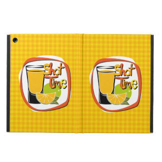 "Illustration Shot with lemon ""Shot Time"" iPad Air Cover"