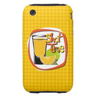"Illustration Shot with lemon ""Shot Time"" Tough iPhone 3 Cover"