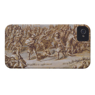 Illustration to 'The Iliad', 1760s (pen & ink, was iPhone 4 Cover
