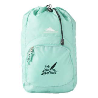 Illustration True Love Feather Backpack