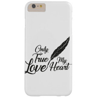 Illustration True Love Feather Barely There iPhone 6 Plus Case