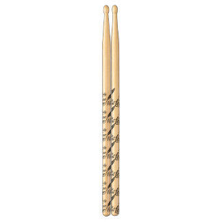 Illustration True Love Feather Drumsticks