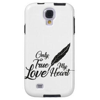 Illustration True Love Feather Galaxy S4 Case