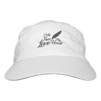Illustration True Love Feather Hat