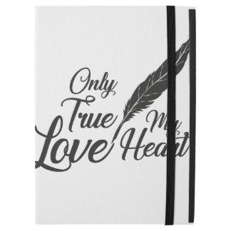 """Illustration True Love Feather iPad Pro 12.9"""" Case"""