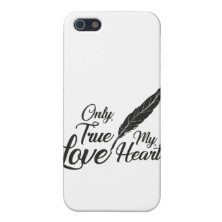 Illustration True Love Feather iPhone 5/5S Case