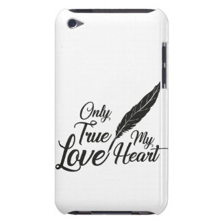 Illustration True Love Feather iPod Touch Case