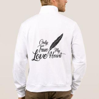 Illustration True Love Feather Jacket