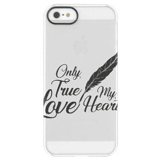 Illustration True Love Feather Permafrost® iPhone SE/5/5s Case