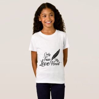 Illustration True Love Feather T-Shirt