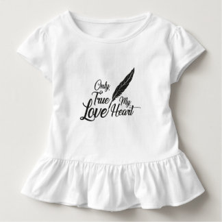 Illustration True Love Feather Toddler T-Shirt