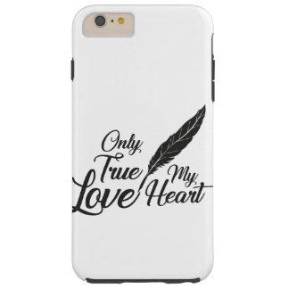 Illustration True Love Feather Tough iPhone 6 Plus Case