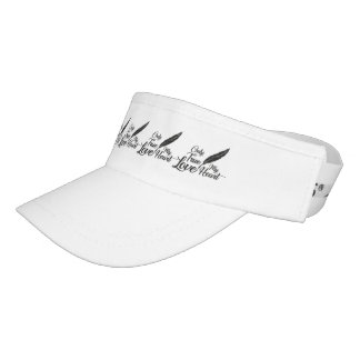 Illustration True Love Feather Visor