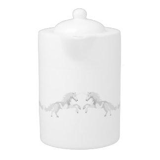 Illustration White Unicorn