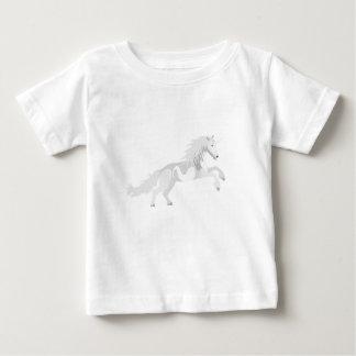 Illustration White Unicorn Baby T-Shirt