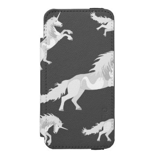 Illustration White Unicorn Incipio Watson™ iPhone 5 Wallet Case