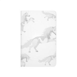 Illustration White Unicorn Journal