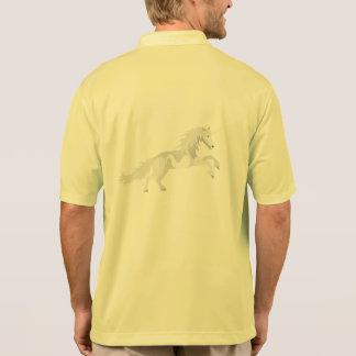 Illustration White Unicorn Polo Shirt