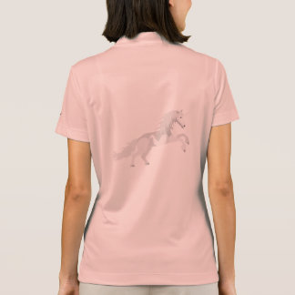 Illustration White Unicorn Polo Shirt