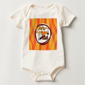 Illustration Wiskey and Cigar Baby Bodysuit