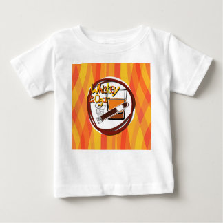 Illustration Wiskey and Cigar Baby T-Shirt