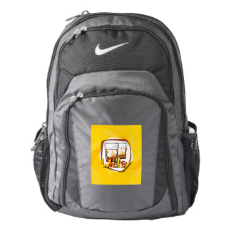 Illustration Wiskey on Ice Backpack