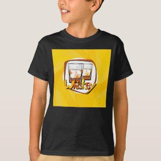 Illustration Wiskey on Ice T-Shirt