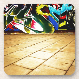 illustration with high detail and vibrant colors coasters