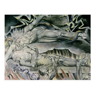 Illustrations of the Book of Job; Job's Evil Postcard