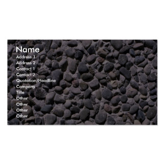 Illustrative Large gravel stucco surface Pack Of Standard Business Cards