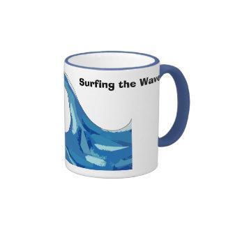 illysurfing, Surfing the Wave Ringer Mug