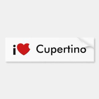 iLove Cupertino Bumper Sticker