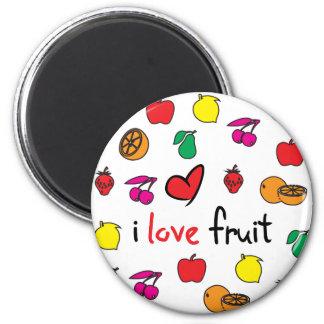 ilovefruit refrigerator magnet