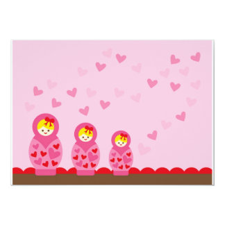 ILoveMat3 13 Cm X 18 Cm Invitation Card