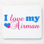 Ilovemyairman_frontwhearts_2 Mouse Mats