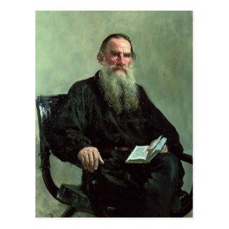 Ilya Repin- Portrait of Leo Tolstoy Postcard