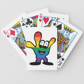 ILYrainbowFinal Bicycle Playing Cards