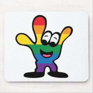 ILYrainbowFinal Mouse Pad