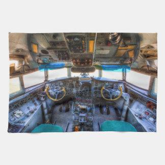 Ilyushin IL-18 Cockpit Tea Towel