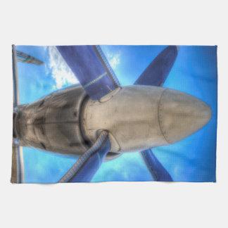 Ilyushin IL-18 Turboprop Engine Tea Towel
