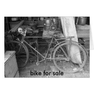 IM001154, bike for sale Greeting Card